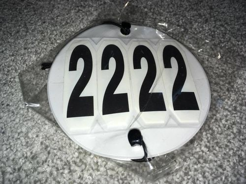 Competition Numbers (set of 2)