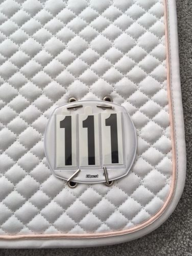 EQuest Dressage Numbered (both sides) Competition Pads with Number Sets