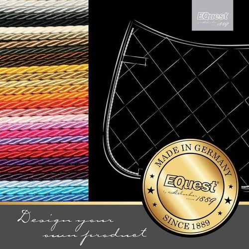 "EQuest ""Design Your Own"" Competition Numbered Saddle Pad"