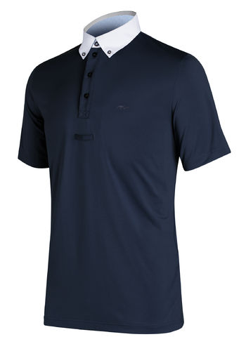 AS Gingio Men's Short Sleeve Competition Polo