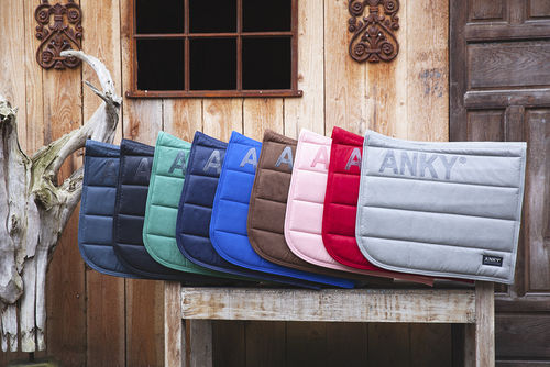 ANKY Dressage Saddle Pads- Technical Silver